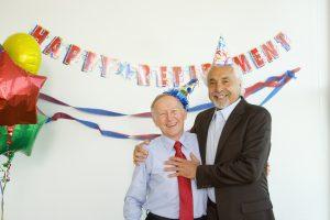 定年退職のお祝いとそのお礼の仕方