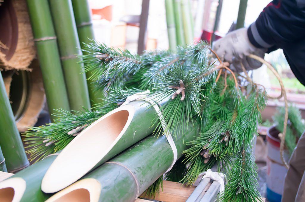 神が宿る神聖な正月飾り門松の作り方